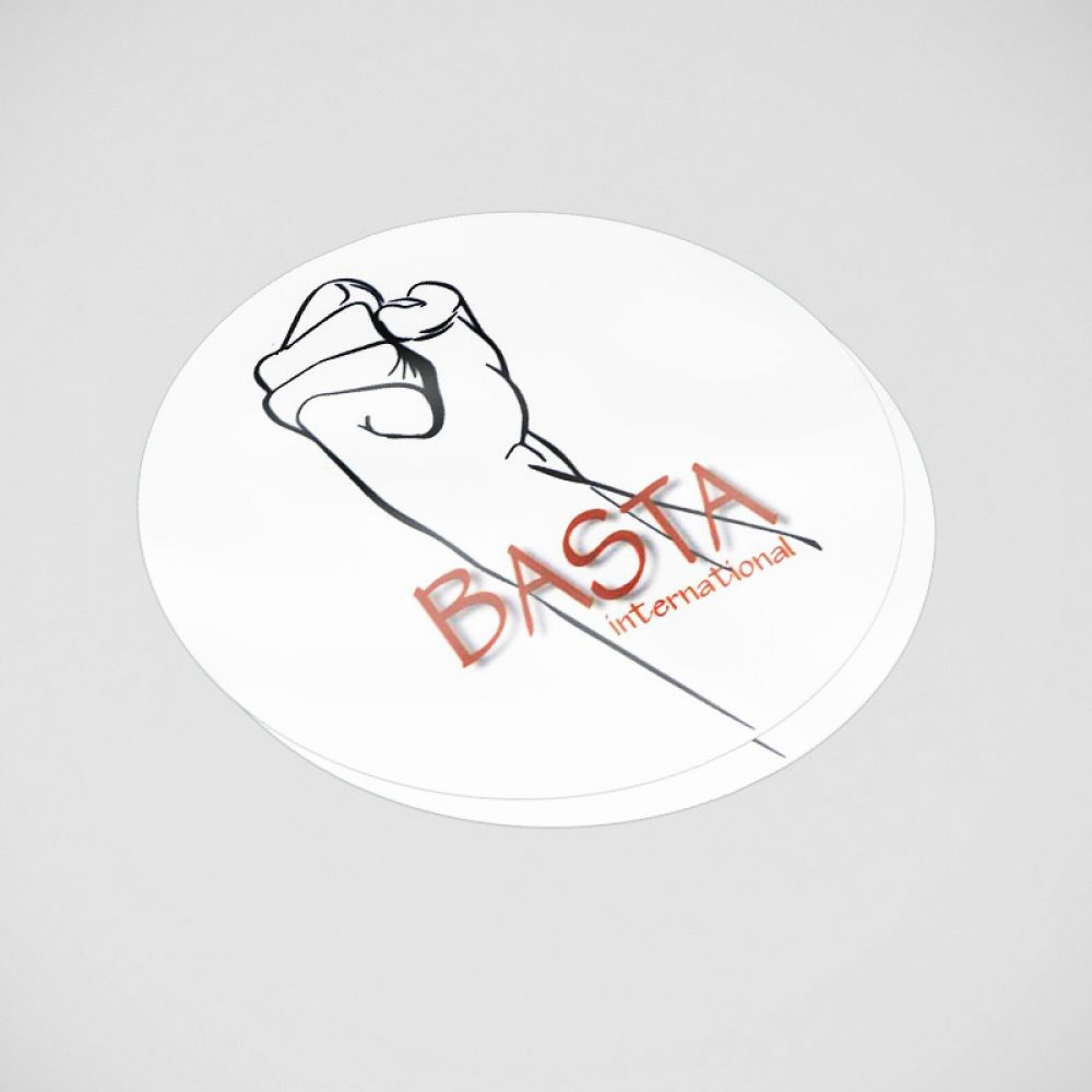 La boutique Basta International : sticker avec logo