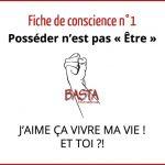 Fiche de Conscience 1 Basta International