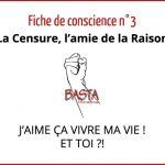 Fiche de Conscience 3 Basta International