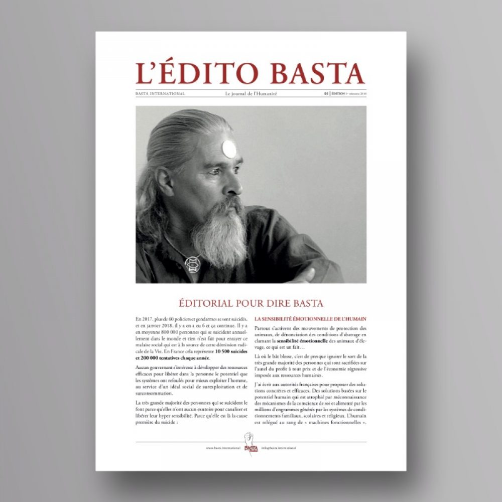 L'Edito BASTA n°1