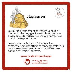 Désarmement Basta International