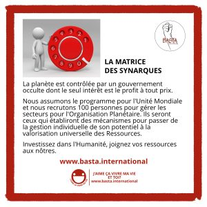 Matrice des synarques Basta International