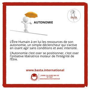 Autonomie Basta International