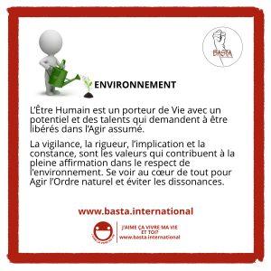 Environnement Basta International